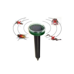 Ahuyentador de topos y ratones solar