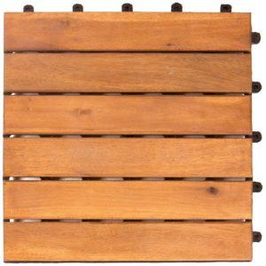Baldosas de jardín de madera