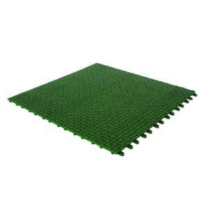 Baldosas de jardín de plástico verde