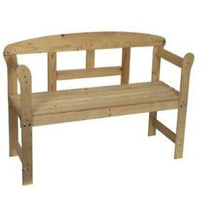 Banco de madera para jardín Spetebo
