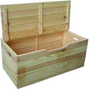Baúl de madera de hibisco Blinky