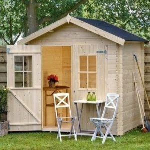 Caseta de madera estilo vivienda Losa Legnami