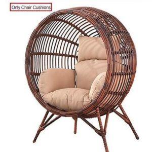 Cojín de silla colgante de mimbre Sqinaa