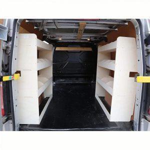 Estantería para furgoneta para almacenamiento