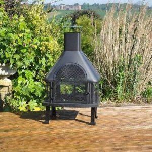 Estufa y barbacoa de jardín Kingfisher
