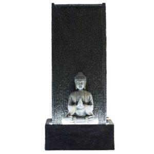 Fuente jardín fuente exterior Buda
