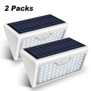 Lámparas solares de pared