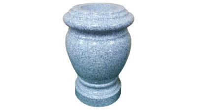 jarrones de granito para cementerio