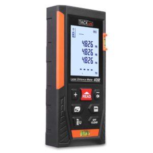 Medidor de distancia láser LCD