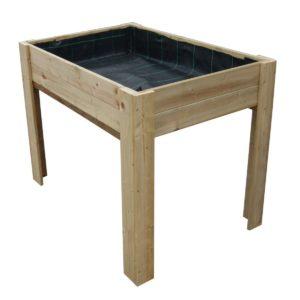 Mesa de cultivo de madera