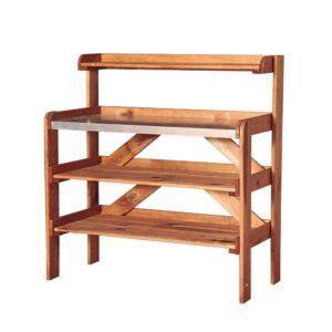 Mesa de cultivo madera de pino silvestre