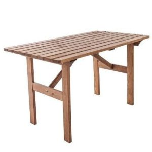 Mesa de jardín de poliester Ambientehome