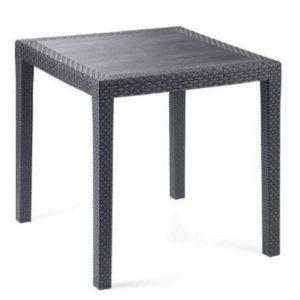 Mesa para jardín de resina Papillon