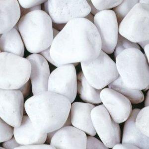 Piedras blancas para jardín RockinColour