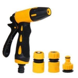 Pistola de agua de alta presión con accesorios de latón
