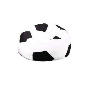 Puff de exterior con diseño de balón de fútbol