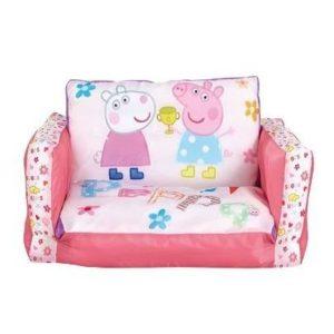 Sofá infantil hinchable de Peppa Pig