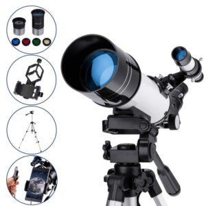 Telescopio refractor de Maxlapter para niños