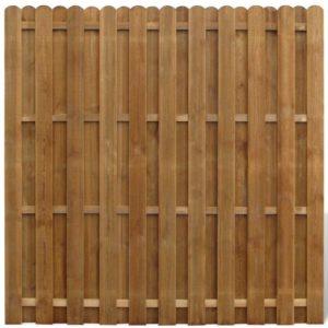 Valla de jardín panel de madera